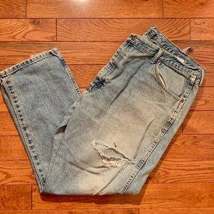Wholly Well Worn Wrangler Jeans 42x30